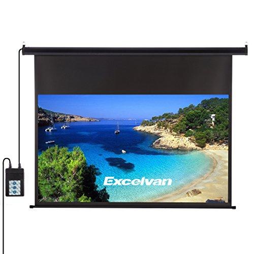 Schermo per Proiettore Elettrico HD con Telecomando 266x149cm 120 Pollici,Formato 1:1, 4:3, 16:9,...