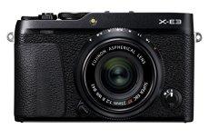 Fujifilm X-E3 - Cámara Evil de 24.3 MP y kit cuerpo con objetivo Fujinon XF 23 mm F2 R WR, color negro