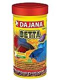 DAJANA BETTA–Comida especial de copos para betta y peces de agua dulce