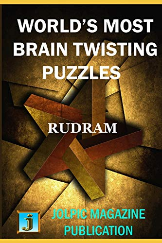 WORLD'S MOST BRAIN TWISTING PUZZLES: SOLUTION OF EINSTEIN'S ZEBRA PUZZLE AT THE END OF THE BOOK