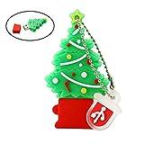 Memoria USB Drive Pen Drive Árbol de Navidad Regalos 16GB Pendrive
