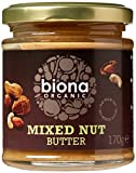 Biona Organic Mixed Nut Butter 170g (Pack of 3)