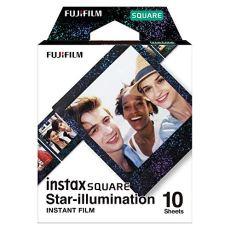 Fujifilm Instax Square Película, Star Illumination, 10 Shot Pack