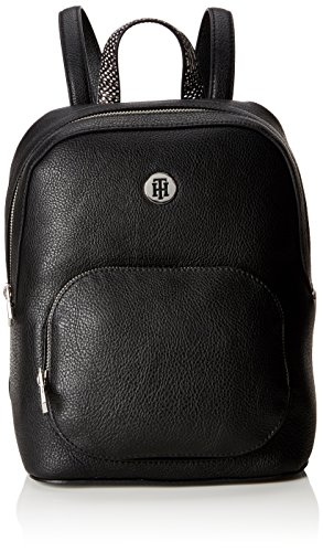 Tommy Hilfiger - Th Core Backpack, Mochilas Mujer, Negro (Black), 12.5x28x23 cm (B x H T)