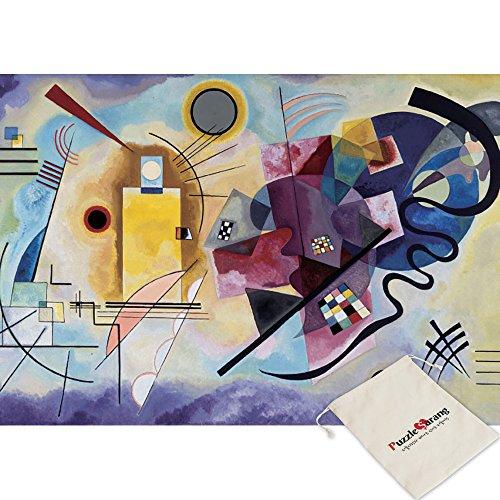 Puzzle Life Giallo rosso blu - Vassili Kandinsky - 1000 Piece Jigsaw Puzzle