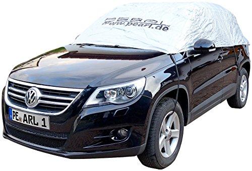 PEARL Auto Abdeckplane: Premium Auto-Halbgarage für Obere Mittelklasse Kombi 410 x 138 x 45 cm (Wetterfeste Pkw Halbgaragen)