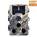 Mbylxk Wildkamera 1080P Full HD 16MP Jagdkamera Gartenkamera 120°Breite Vision Infrarote 20m Nachtsicht 2.4