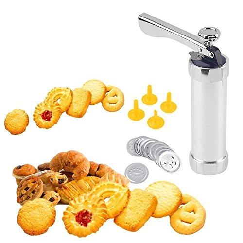 BLAPOXE Cookie Press Machine Biscuit Maker Cake Making Decorating Gun Kitchen Baking Pastry Tools Set.