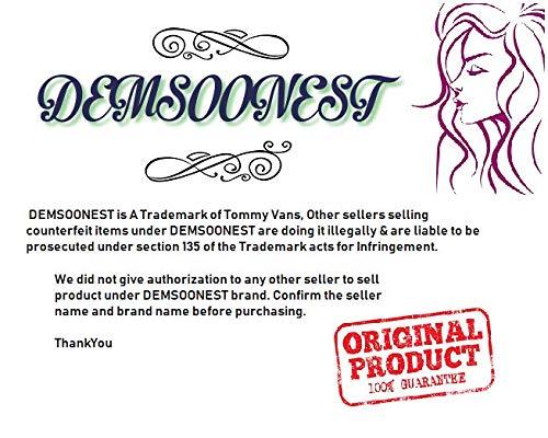 Tommy Vans Women's Lace Bikini Bra and Panties (Black, Free Size) 7