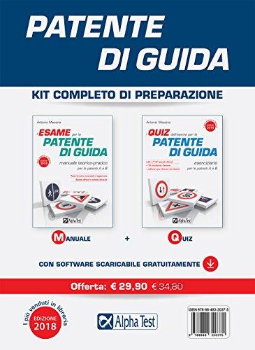 Patente di guida. Kit completo di preparazione. Con software di simulazione