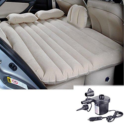 Letto materasso divano AUTO sedili posteriori gonfiabile+pompa elettrica+cuscini