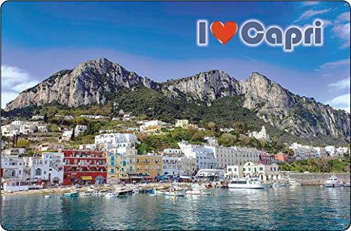 Cadora - Calamita per Frigorifero I Love Capri II