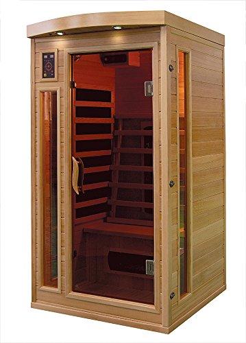 Cabina de infrarrojos/calor cabina/sauna–Esquina. Para 1Persona Especial Acción