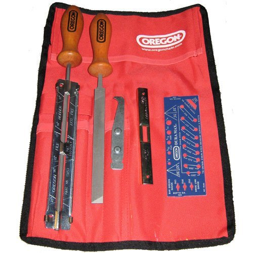 Oregon Chainsaw Sharpening Kit and Pouch 5/32
