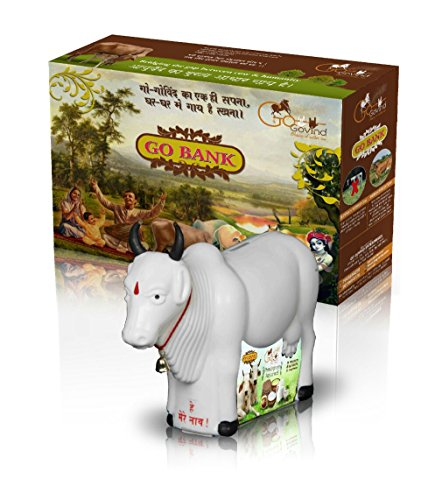 GoGovind Cow Bank Plastic (Cow + Money + Donation) - Pack of 2 4