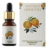 Nature's Absolutes Pure Bergamot Essential Oil, 15ml