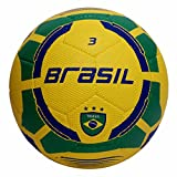 Vector X Brasil Rubber Moulded Football, Size 3