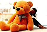 Click4Deal Stuffed Spongy Soft Teddy Bear, Brown (5 Feet)