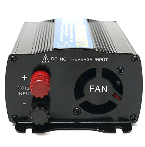 Z9CTHDF25JL Inversor de Coche / Inversor de Energía del Coche / 400W DC 12V a AC 110V Adaptador Convertidor de Mechero del Coche