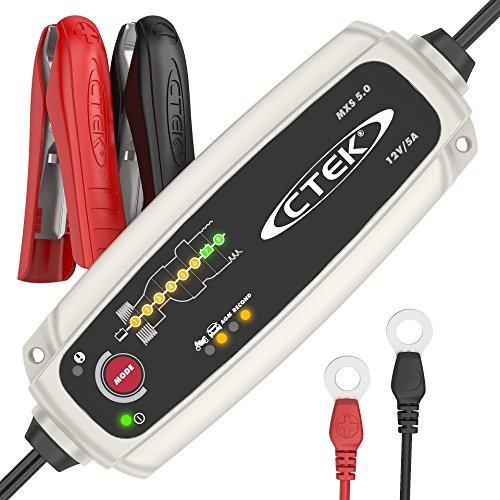 CTEK-MXS-50-Vollautomatisches-Ladegert-Optimale-Ladung-Unterhaltungsladung-und-Instandsetzung-von-Auto-und-Motorradbatterien-12V-5-Amp--EU-Stecker
