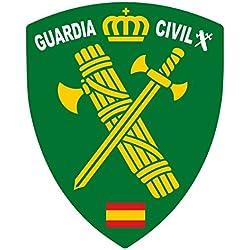 Artimagen Pegatina Escudo Pico Logotipo Guardia Civil 40x60 mm.