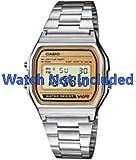 Casio A158WEA-9EF-Orologio/A158WEA-9-Orologio, non solo orologio INCLUDED. originale)