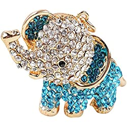 Moda creativa, Stillshine - Rhinestone cristal de llavero con muñeca de chica hermosa accesorios el mejor regalo para las mujeres cartera bolso de mano bolso Llaveros (Estilo6)