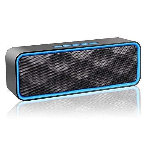 Aigoss S1 Altoparlante Bluetooth Speaker Portatile per Esterni V4.2 Vivavoce Integrato con Doppio...