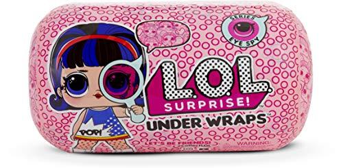 L.O.L. Surprise! - Under Wraps Serie Espia Muñeca con Disfraz, 15 Sorpresas, Multicolor, Modelo...