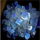 Radhey Krishna Gems 51CTS. Lotto all ingrosso naturale pietra di luna arcobaleno Rough Specimen preziosa cabochon