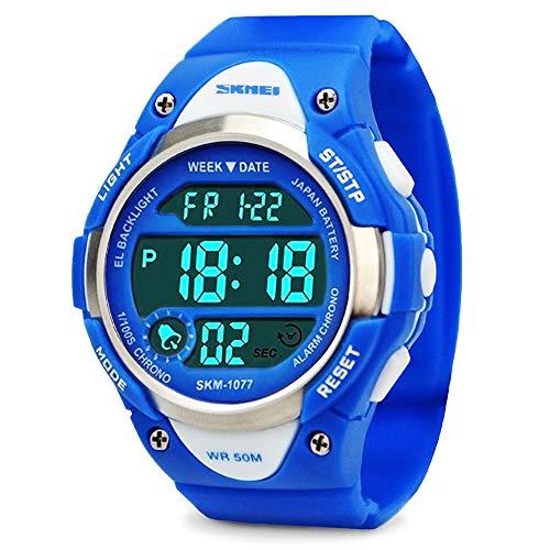 ragazzi orologi digitali, bambini orologio sportivo con allarme, outdoor 50 m impermeabile...