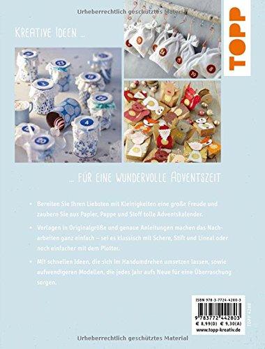 Liebevolle-Adventskalender-kreativkompakt-24-Mal-Auspackfreude-aus-Pappe-Papier-oder-Stoff-Extra-Ein-Bogen-Geschenkpapier