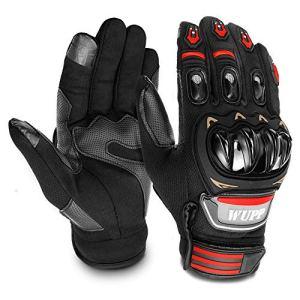 GESPERT Motorradhandschuhe, Motorrad Handschuh für Herren und Damen,Fitness Handschuhe Touchscreen handschuhe für Outdoor,Fahrrad Radfahren,Airsoft Militär,Sport und so weiter,Scharwz 5