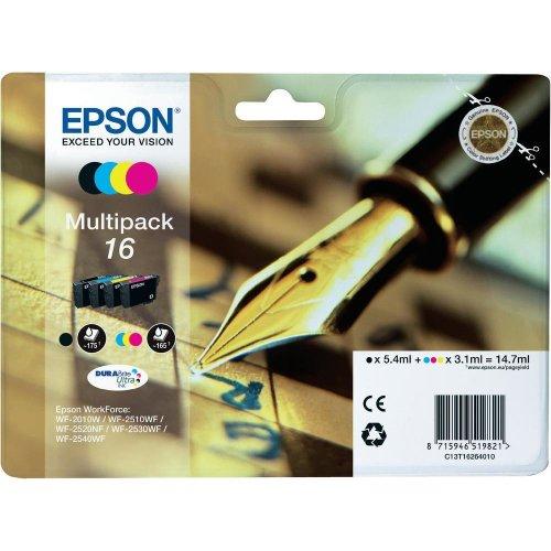 Epson C13T16264010 cartuccia d'inchiostro MultiPack 16 per Workforce WF 2010 W/2510 WF/2520 NF/2530...