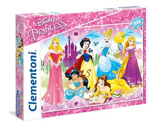 Le Principesse Disney & Sofia - Licenze Puzzle, 104 Pezzi, Multicolore, 806515