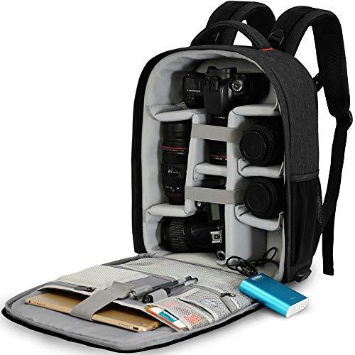 Fotocamera Reflex Borsa Alta Capacità Borsa Fotografica,CADeN Professionale Impermeabile Camera Bag...