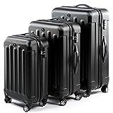 FERGÉ set di 3 valigie viaggio LIONE - bagaglio rigido dure...