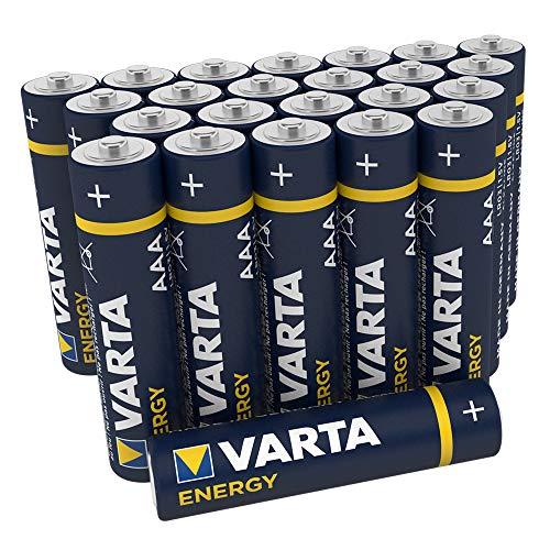 Varta Energy 4103229224 AAA Ministilo LR03 Batterie Alcaline, Confezione da 24 Pile, Blister...