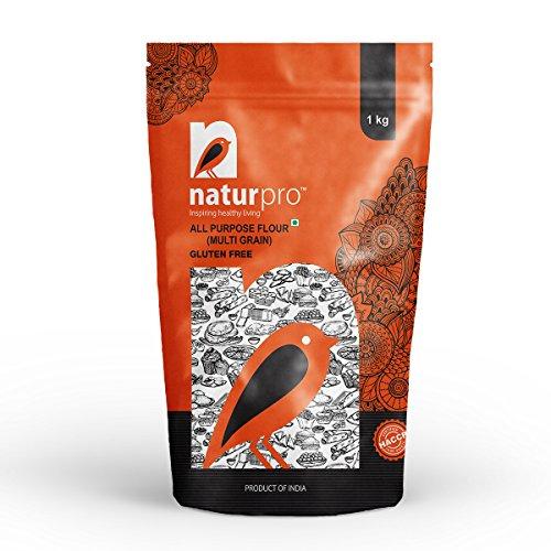 Naturpro Gluten Free All Purpose Flour Multi Grain Pouch, 3 X 1 kg
