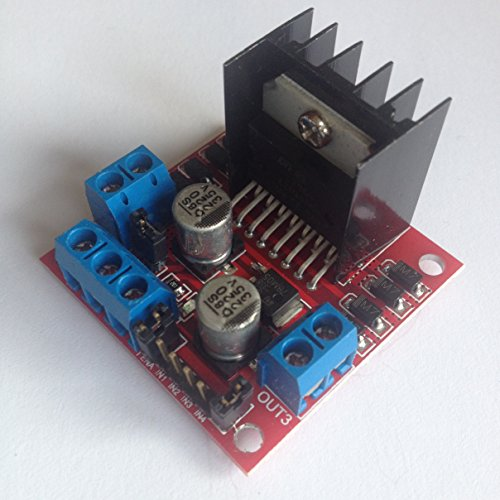 The Ultimate and easy Motor Controller for your School and Home projectsThe L298 N Motor Controller Board is the standard use for Arduino projects that can Turn electricity into Mechanical Motion. Use it to control a DC motor in Small Cars an...