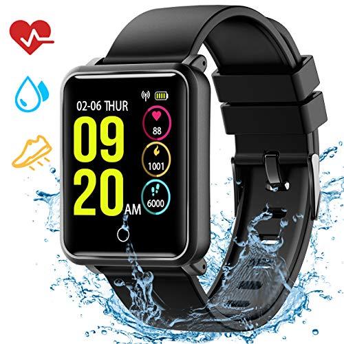 Smartwatch Impermeabile IP68, Seneo Smart Watch Orologio Fitness Tracker Cardiofrequenzimetro,...