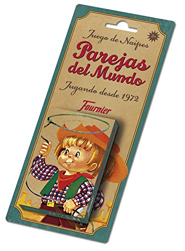 Fournier Parejas del Mundo Baraja de Cartas Infantil Clásica F23803