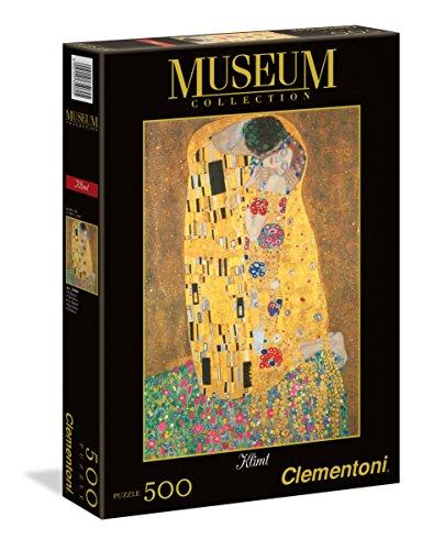 Clementoni - 35060 - Museum Collection Puzzle - Klimt, Il Bacio - 1000 Pezzi