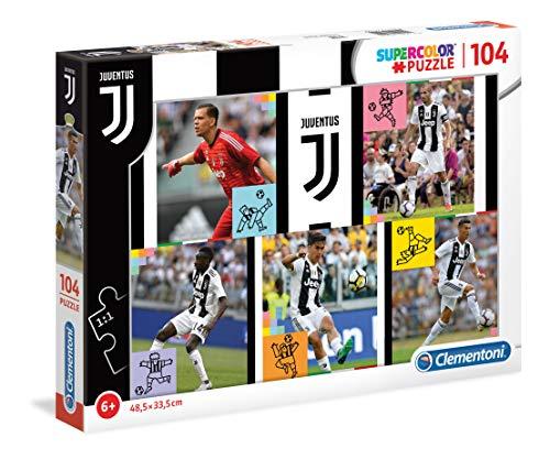 Clementoni Puzzle Juventus-104 Pezzi, Multicolore, 27522