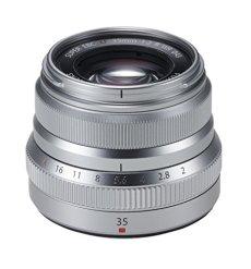 Fujifilm XF35mmF2 R WR - Objetivo, Color Plateado