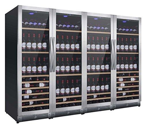 Cantina vino da 580 bottiglie Mobile cantinetta Nevada YW-NW580Q-S Sbrinamento automatico Frigo vino...