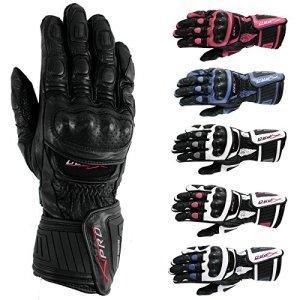 Motorradhandschuher Motorrad hochwertige Handschuhe A-Pro Leder Sonic Moto 8