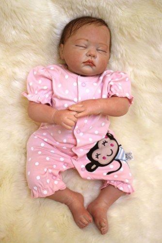 LIDE 20 Pollici 50 cm Reborn Bambole Bambola Bambolotti Bambino Baby Dolls Femmina Cheap Silicone Vinile Magnetica Giocattolo Gift