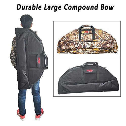 Compoundbogen Fall Bogenschießen Durable Canvas Bag (Normal, Black)
