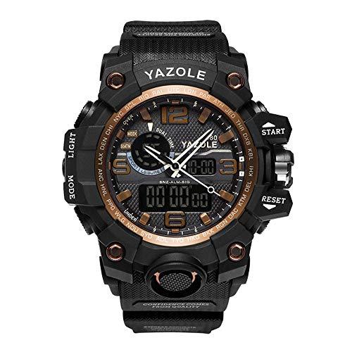 Sportiva da uomo, analogico digitale al quarzo militare orologio impermeabile multifunzionale grande...